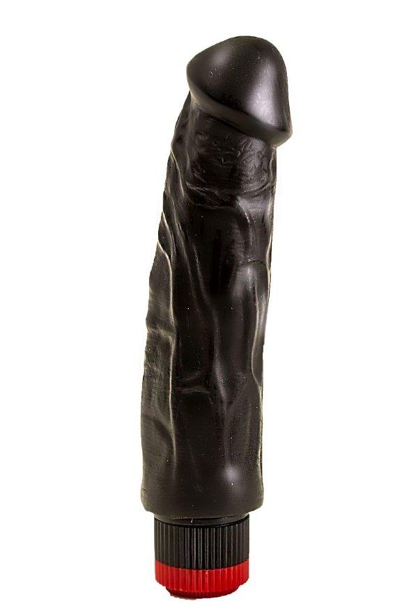 Вибратор-реалистик на присоске - 19,3 см.
